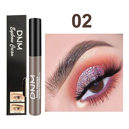 Sourcils Gel, teinture pour sourcils, Eyebrows Gel, Brows Tint, Waterproof Longue Durée, Sourcils Parfaits en 2 Minutes,Imperméable à l'eau de sourcils d'Enhancers de maquillage (B)