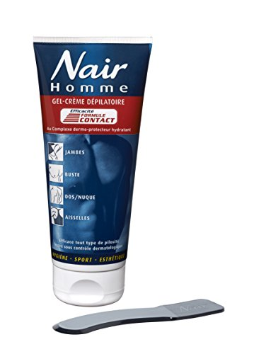 nair-gel-creme-depilatoire-homme-tube-200-ml-spatule-lot-de-2