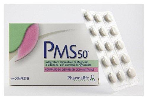 integratore alimentare con estratto di agnocasto Pms 50 30 Compresse 16,5 G