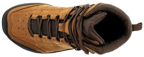 Teva - Kimtah Mid Event Leather W's, Scarpe da escursionismo Donna Marrone (Braun (bison 561))