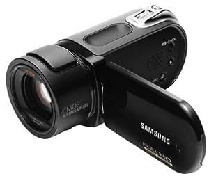 Samsung VP-HMX20C Caméscope à mémoire flash Capteur 6,4 MPix Zoom optique x10 Ecran LCD 2,7'' Mémoire flash 8 Go