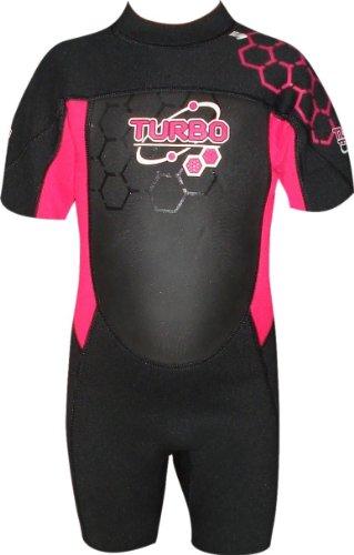 TWF - Traje para deportes acuáticos, color rosa, talla UK: 10-11 años