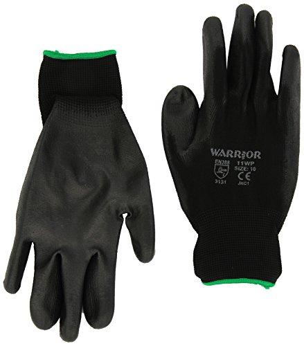 warrior-895468-guantes-de-trabajo-piel-sintetica-color-negro-tamano-10-xl-12-unidades