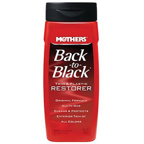 mothers 06112 back-to-black plastic and trim restorer - 12 oz. Mothers 06112 Back-to-Black Plastic and Trim Restorer – 12 oz. 41fYHn6zvuL