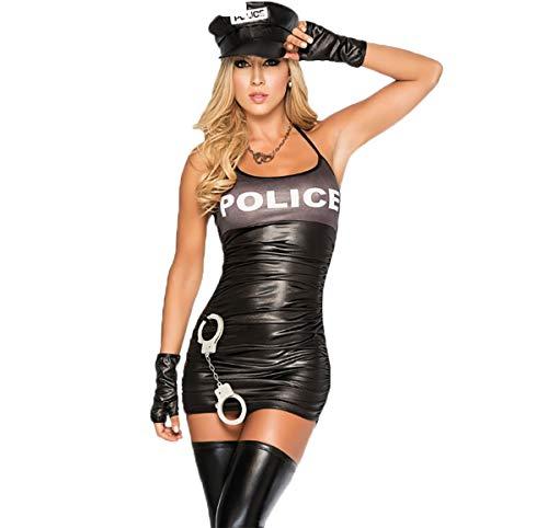 YL Style Uniforme della Polizia Policewoman Sexy da Donna Pigiama Uniforme Cosplay Costume da Role-Playing