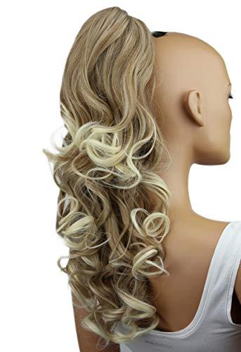 Prettyshop 60cm parrucchino, coda di cavallo, le estensioni dei capelli, resistente al calore ondulato h64