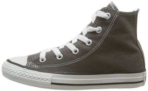 Converse Chuck Taylor All Star Season Hi, Unisex Sneaker, Charcoal, 25 EU -