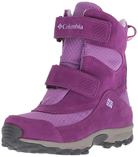 COLUMBIA Mädchen Multisportschuhe, Wasserdicht, YOUTH PARKERS PEAK BOOT, Violett (Crown Jewel, Phantom Purple), 32 Columbia Peak