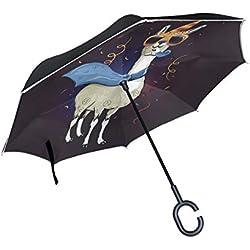 COOL LLAMA. Paraguas invertido.