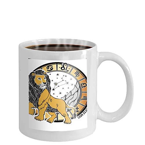 Coffee cup mug blue lightning 11oz - Blue Mug Cup
