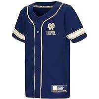"Notre Dame Fighting Irish NCAA ""Play Ball"" Youth Jeunes Button Up Baseball Jersey Maillot"