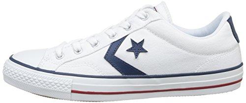 Converse Star Player, Unisex-Erwachsene Sneakers, Weiß (Weiß), 44 EU (10 Erwachsene UK) -