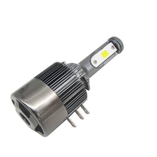TXVSO8 H15 110W LED COB Faro dell'automobile Kit 9200LM 6000K Bianco Lampade Lampadine, 55W/Bulb