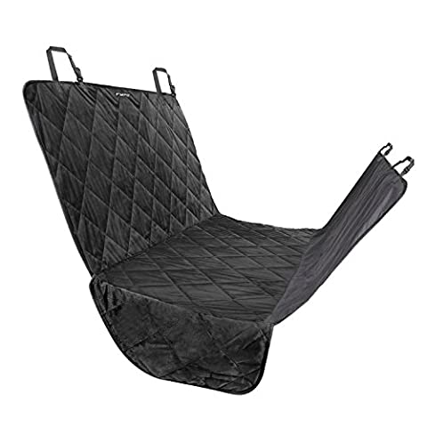 Fypo Dog Car Seat Covers Protector, Waterproof Fabric Rear Back