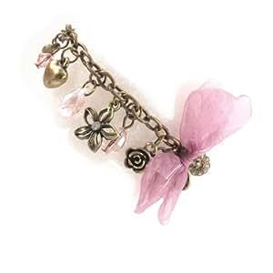 Pearls bracelet 'Sissi' pink ivory.
