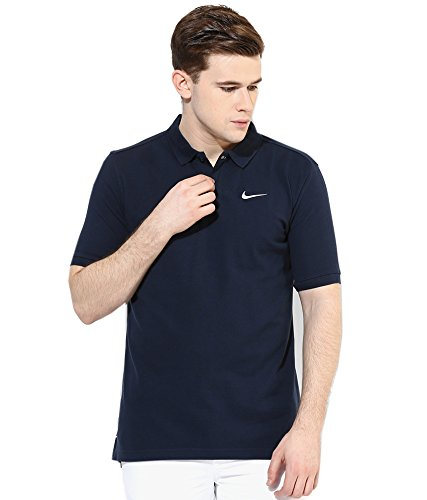 Nike Men's As Matchup Pq Navy Blue Polo T-shirt
