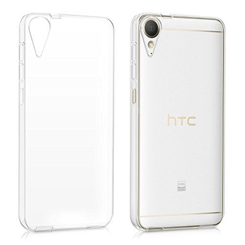 kwmobile Crystal Case Hülle für > HTC Desire 10 Lifestyle < aus TPU Silikon - transparente Schutzhülle Cover klar in Transparent