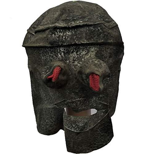 Mann Leicht Tin Kostüm - Halloween Maske Scary Tin Eimer Form Maske Horror Zombie Halloween Kostüm Party Requisiten Masken Für Erwachsene Männer Frauen