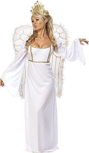 SMIFFYS - Costume Carnevale Travestimento Angelo con Ali - sexy donna