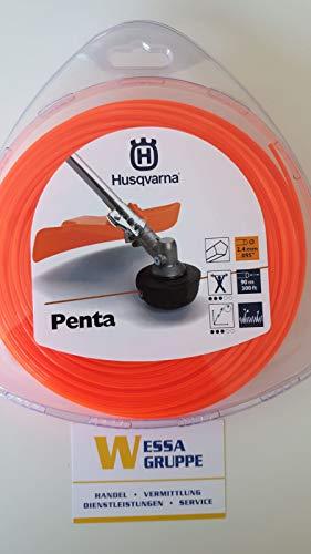 Trimmerfaden Penta 2,4X90m orange