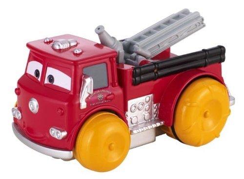 Mattel BGF18 - Disney Cars Deluxe Hydro Wheels Red für die Badewanne