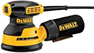 DEWALT DWE6421 280Watt 125mm Random Orbit Palm Sander-Perform and Protect Shield