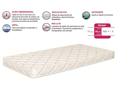 Colchon cuna thermofress