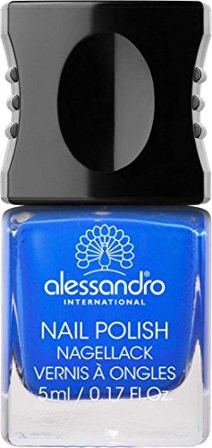 Alessandro International Nagellack 5 ml - 193 Deep Ocean Blue -