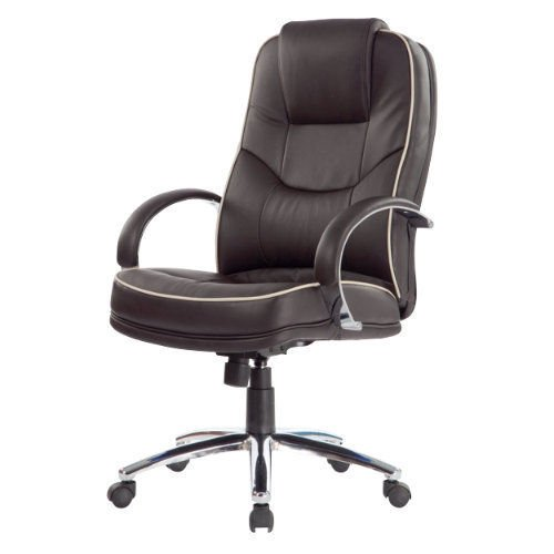 Best Saving for RS Soho Rome2 leather-faced executive office chair in brown on Amazon