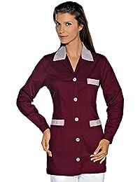 Isacco-túnica médica Marbella Color Rojo Burdeos.