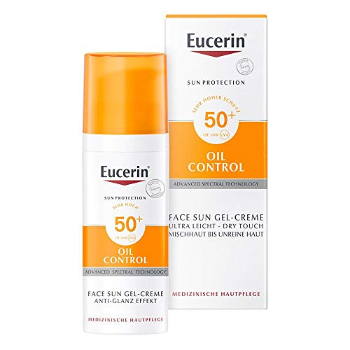 Eucerin Oil Control Face Sun Gel-Creme LSF 50+, 50 ml Creme-Gel