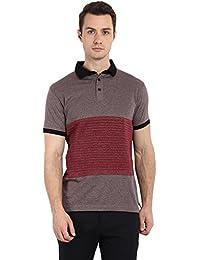 Brown Short Sleeved Polo T-Shirt - B073XHVZSN