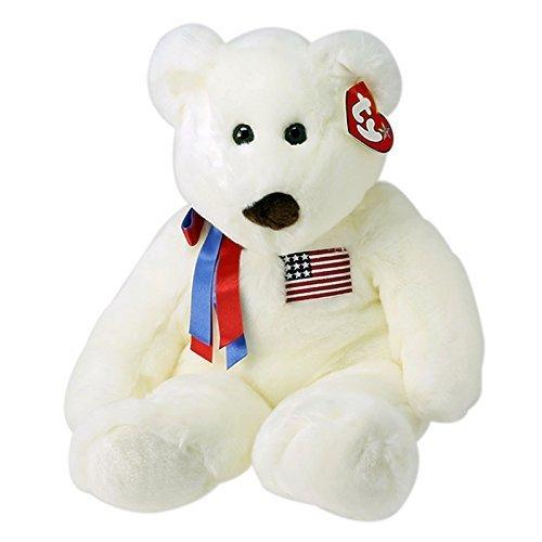 Libearty Bear (Ty Beanie Buddies Large Libearty - Bear by Ty)