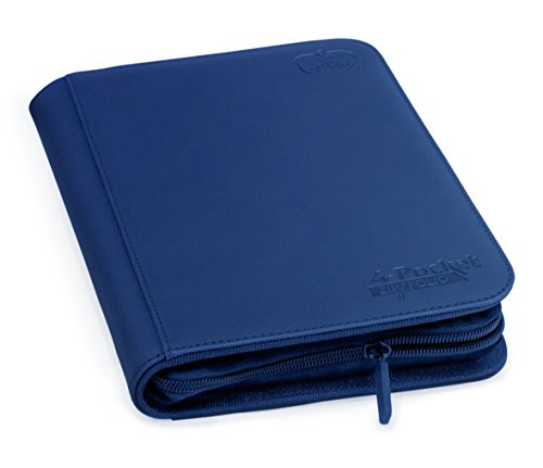 Ultimate Guard UGD010354 - 4-Pocket Zip Folio Xeno Skin, dunkelblau