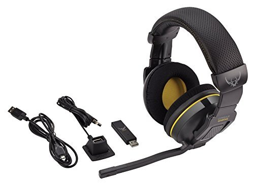 Corsair Gaming CA-9011127-EU H2100 USB Wireless Dolby 7.1 Komfort Gaming Headset, schwarz