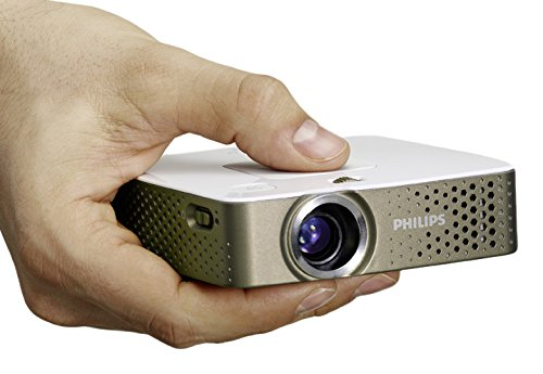 Philips PicoPix PPX3414 LED Multimedia Pocket Projector with Integrated Media Player and Document Viewer
