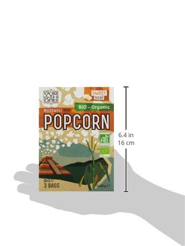 Yum Kah Popcorn für die Mikrowelle süß, glutenfrei - 6