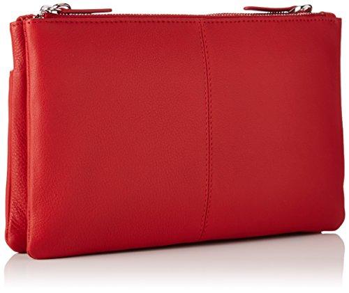 Le Tanneur - Valentine, portafoglio Donna Rosso (Rouge)