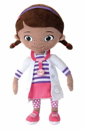 SIMBA 6315877233 - Peluche de la doctora Mc Stuffin de Disney (50 cm)
