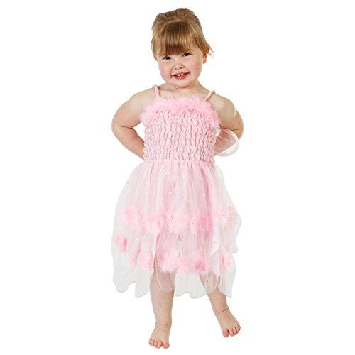 9431f0d79 Lucy Locket - Disfraz de hada salvaje rosa para niña (3-4 años)