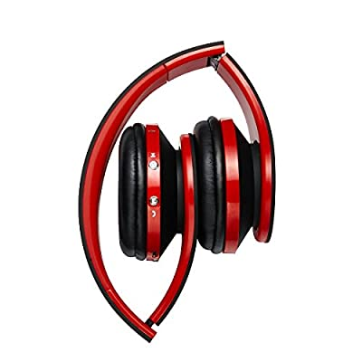 Bluetooth Wireless Headset NASSONBO Over-ear Stereo Lightweight Headphones with Microphone for Kids Adult Music Streaming for FM Radio MP3 MP4 PC Tablets Mobiles from ShenzhenSanxinNewEnergyTechnologyCo.,Ltd