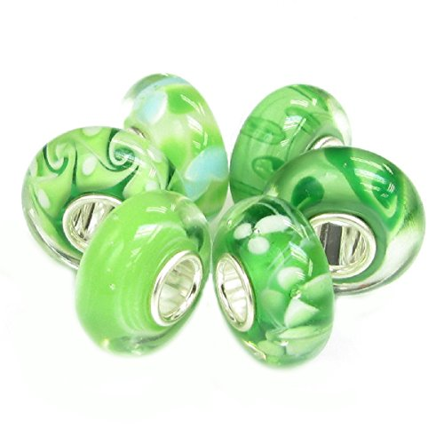 queenberry-sterling-silver-green-flower-european-style-glass-bead-charm-bundle