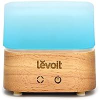 Levoit Aroma Diffuser 120ml Holzmaserung Ultraschall Luftbefeuchter mit 7 Farben-LED, Touch-Tasten-Steuerung,... preisvergleich bei billige-tabletten.eu