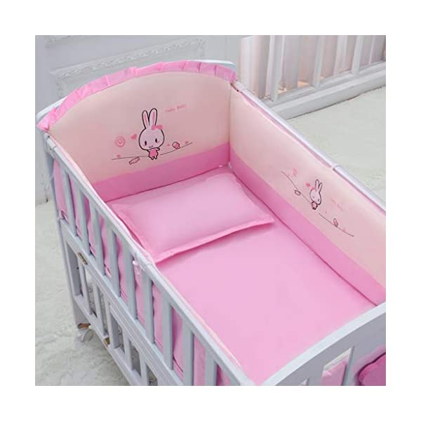 Baby Travel Bed Newborn Toddler Baby Crib Breathable Mesh Baby Anti-Collision Bed Bumper Protector Detachable Crib Liner Folding Baby Crib DUOER home It can bring sufficient security to baby and let baby enjoy the comfortable sleeping,You don't have to worry about the quality of your baby sleeping any more. ★ New upgraded multi-functional European crib, imported New Zealand pine, environmentally friendly water-based paint. ★Safe and environmentally friendly water-based paint, environmentally friendly, non-toxic, formaldehyde-free, and odor-free, so that every bit of your baby breathes healthy. 6