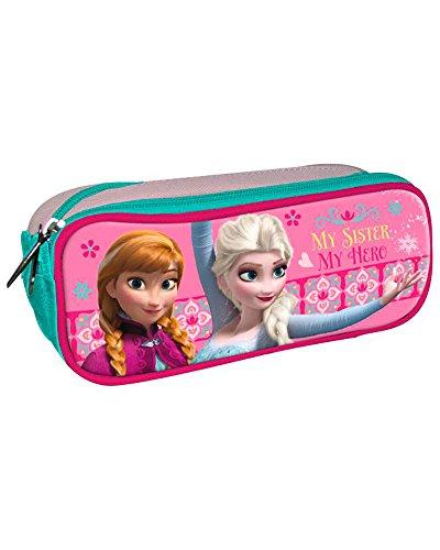 Disney Frozen- Portatodo Doble Cremallera (Astro Europa AST1240)
