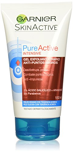 Garnier Pure Active Gel Exfoliante - 150 ml