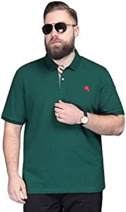 Golf Polo Shirts for Men - Golf Polo Shirts for Men - Mens Polo Shirt Short Sleeve Plus Size Polo T-Shirt Big