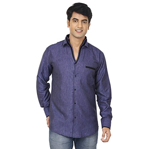 ADHAANS Men's Party wear Shirt  available at amazon for Rs.799