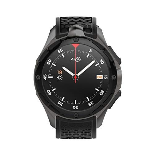 A-Artist Bluetooth Smartwatch Fitness Uhr Intelligente Armbanduhr Fitness Tracker Smart Watch Sport Uhr Schrittzähler Schlaftracker Romte Capture Kompatibel mit Android Smartphone 670 Gps