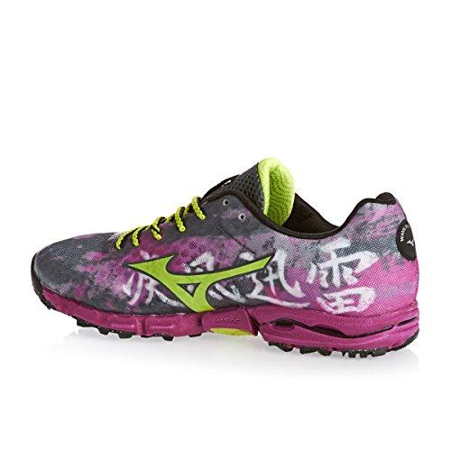 Mizuno Wave Hayate Women's Trail Laufschuhe - SS15 pink/grau